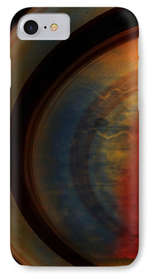 Tuscan IPhone 7 Case featuring the painting Tuscan by Jill English