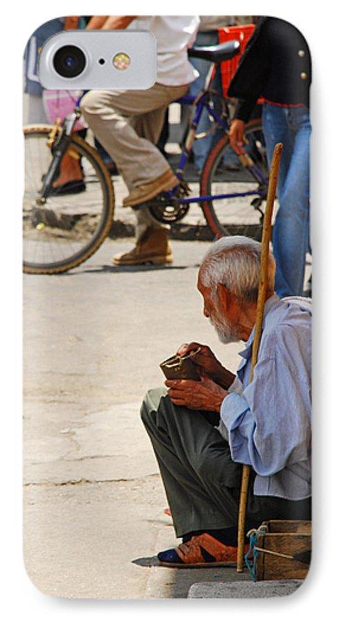 Beggar IPhone 7 Case featuring the photograph Un Peso Por Favor by Skip Hunt