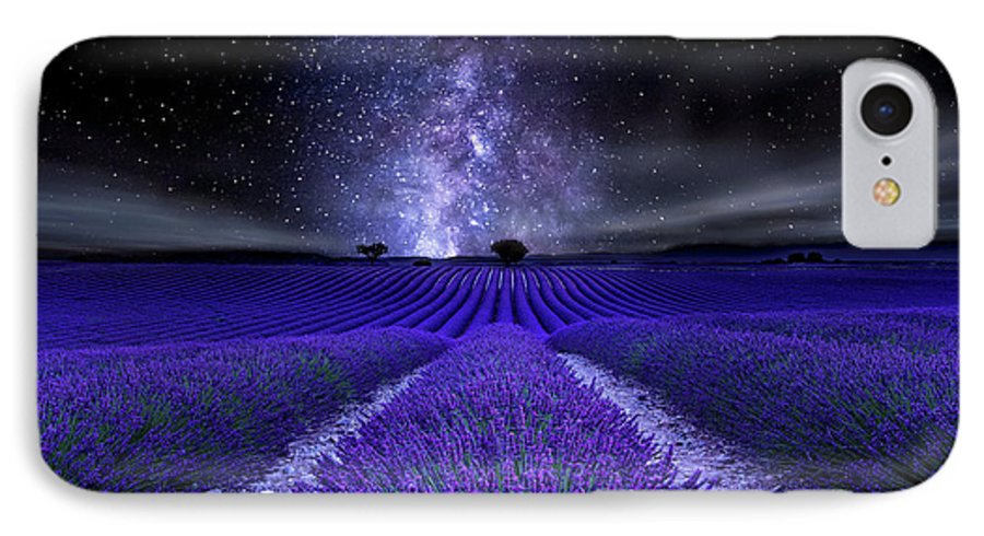 Night IPhone 7 Case featuring the photograph Under The Stars by Jorge Maia