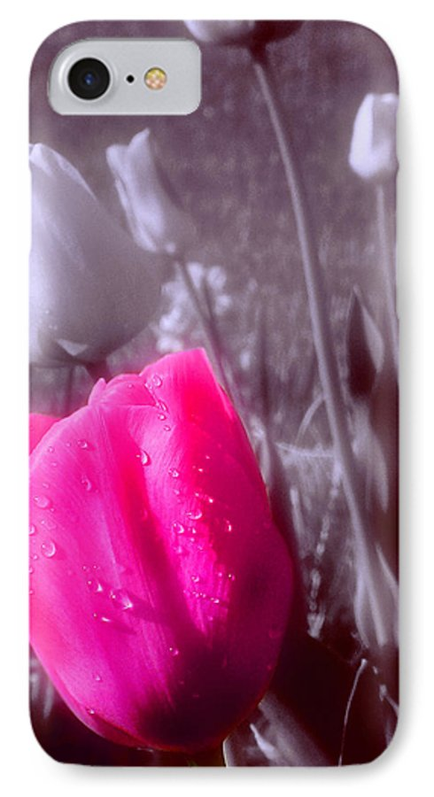Flower IPhone 7 Case featuring the photograph Uniqueness by Kenneth Krolikowski
