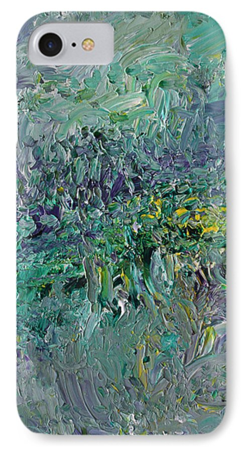 Fusionart IPhone 7 Case featuring the painting Blind Giverny by Ralph White