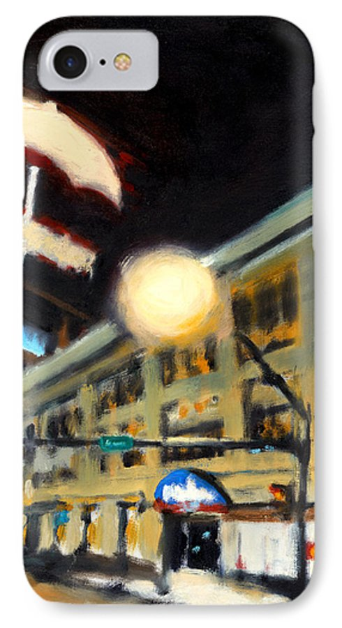 Rob Reeves IPhone 7 Case featuring the painting Untitled by Robert Reeves