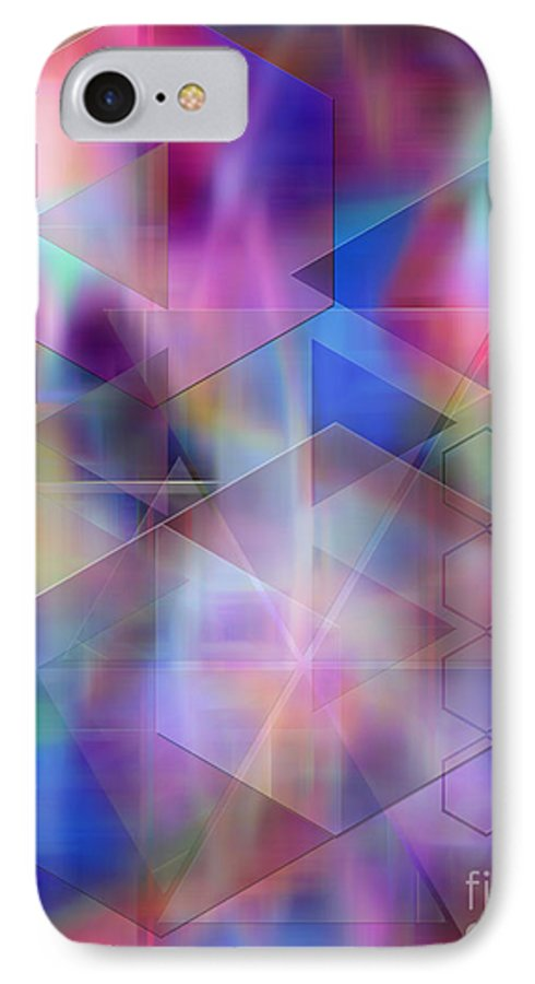 Usonian Dreams IPhone 7 Case featuring the digital art Usonian Dreams by John Beck