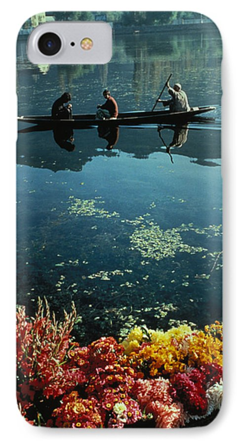 Boats IPhone 7 Case featuring the photograph Vale Of Kashmir by Carl Purcell