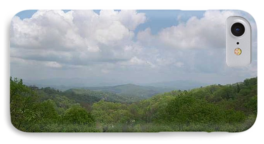 Mountains IPhone 7 Case featuring the photograph View From Ober Gatlinburg by Barb Montanye Meseroll