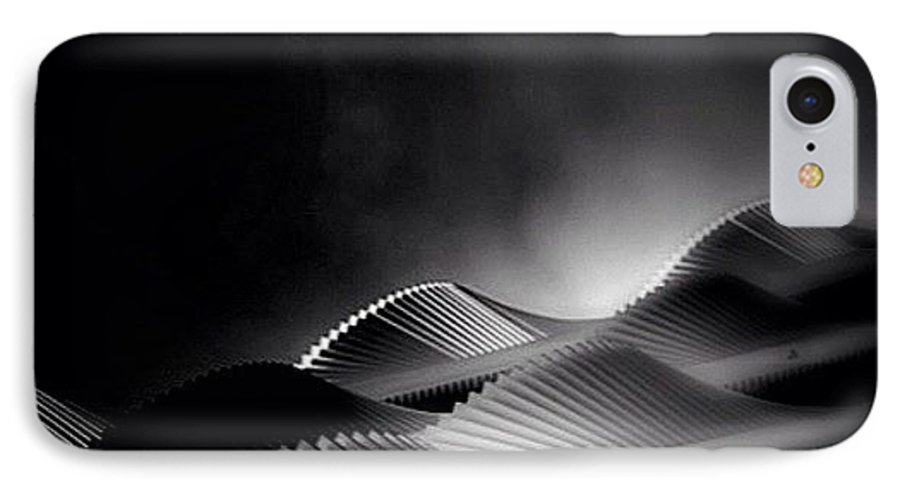 Rptw4ofblack IPhone 7 Case featuring the photograph Waves Of Steel - Concrete Jungle by Robbert Ter Weijden