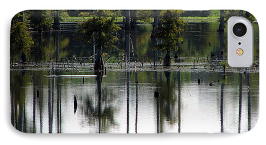Wetlands IPhone 7 Case featuring the photograph Wetland by Amanda Barcon