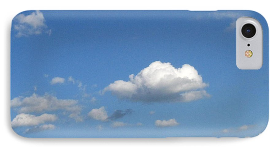 Clouds IPhone 7 Case featuring the photograph Wide Open by Rhonda Barrett