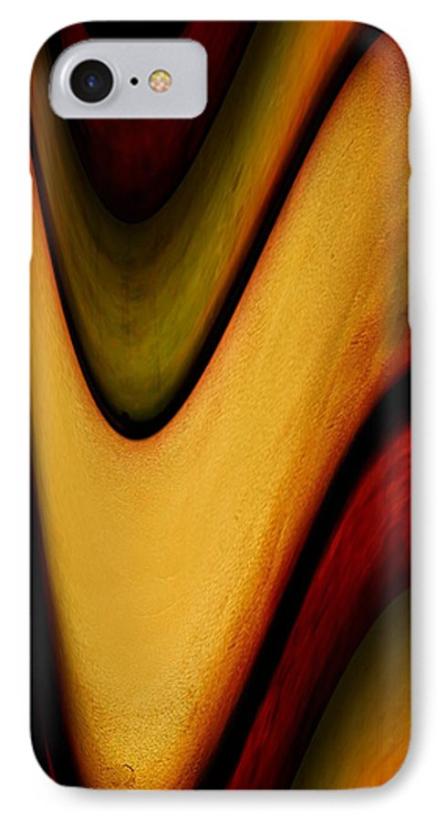 Wrapped IPhone 7 Case featuring the painting Wrapped by Jill English