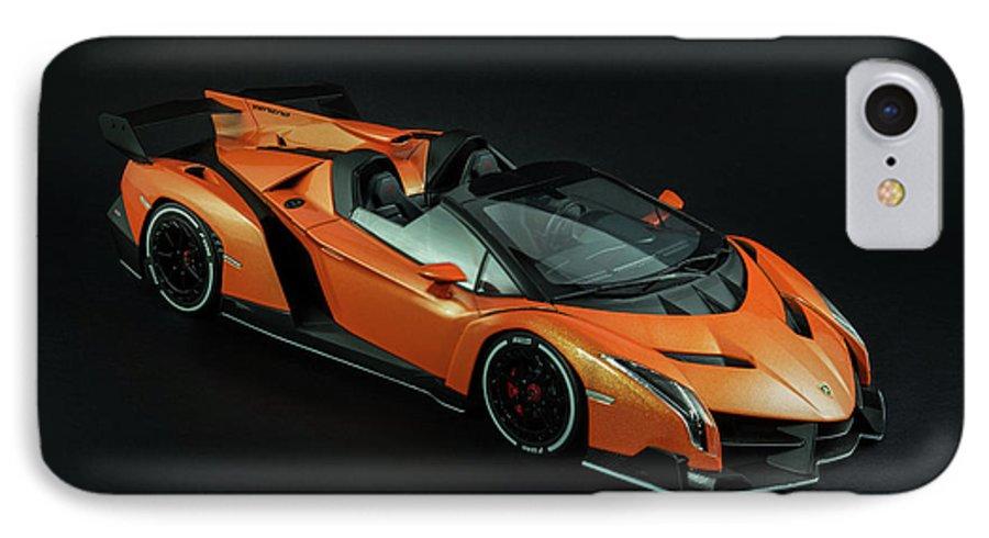 Lamborghini Veneno Roadster Iphone 7 Case For Sale By Evgeny Rivkin