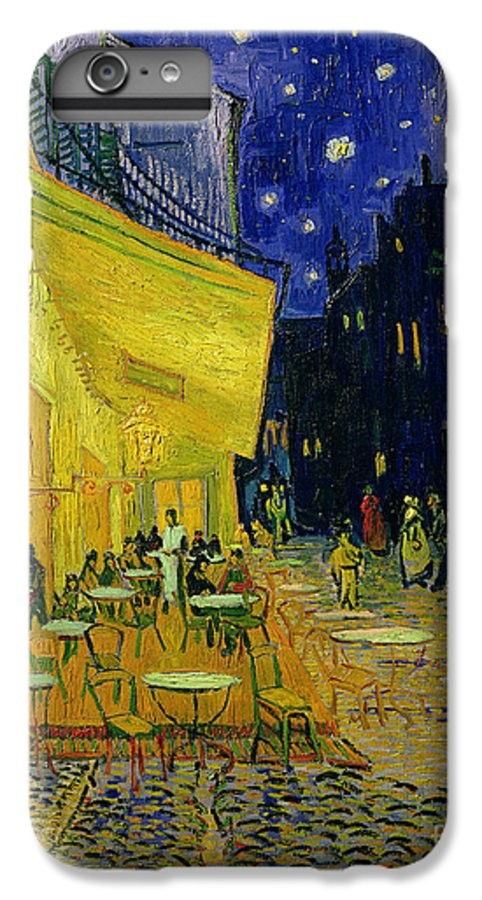 Cafe Terrace IPhone 7 Plus Case featuring the painting Cafe Terrace Arles by Vincent van Gogh