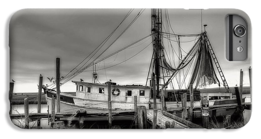 Shrimp Boat IPhone 7 Plus Case featuring the photograph Lowcountry Shrimp Boat by Scott Hansen