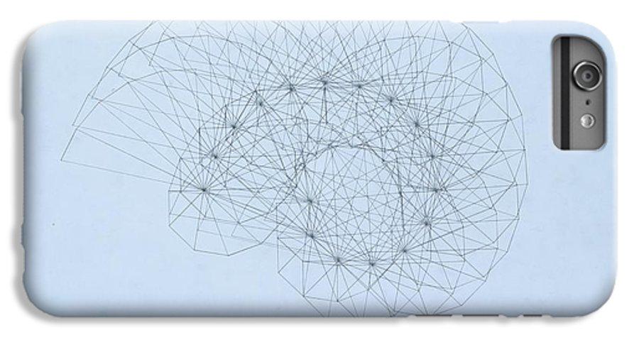 Jason Padgett IPhone 7 Plus Case featuring the drawing Quantum Nautilus by Jason Padgett