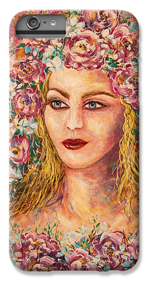 Goddess IPhone 7 Plus Case featuring the painting Good Fortune Goddess by Natalie Holland