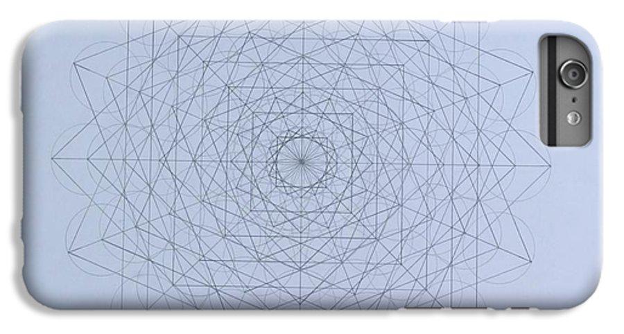 Jason IPhone 7 Plus Case featuring the drawing Quantum Foam by Jason Padgett