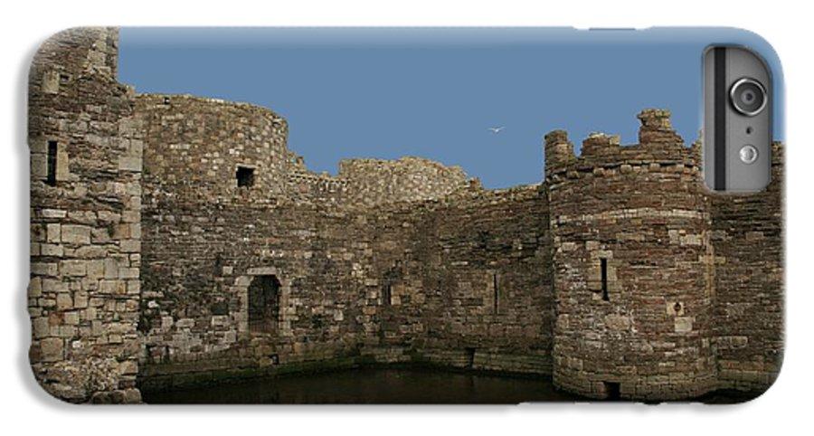 Castles IPhone 7 Plus Case featuring the photograph Beamaris Castle by Christopher Rowlands
