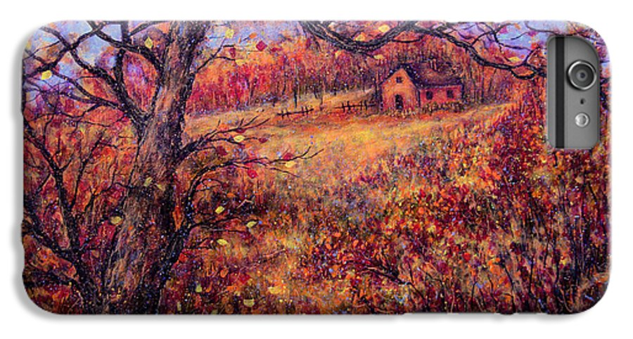 Autumn IPhone 7 Plus Case featuring the painting Beautiful Autumn by Natalie Holland