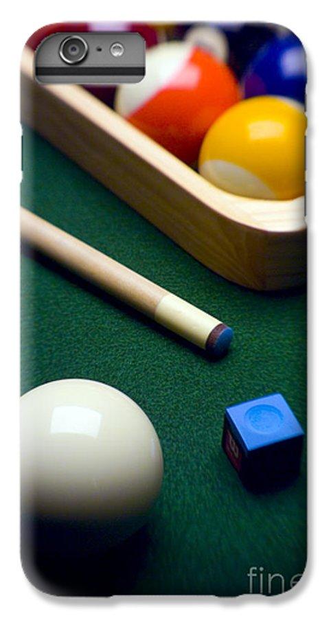 Billiard IPhone 7 Plus Case featuring the photograph Billiards by Tony Cordoza