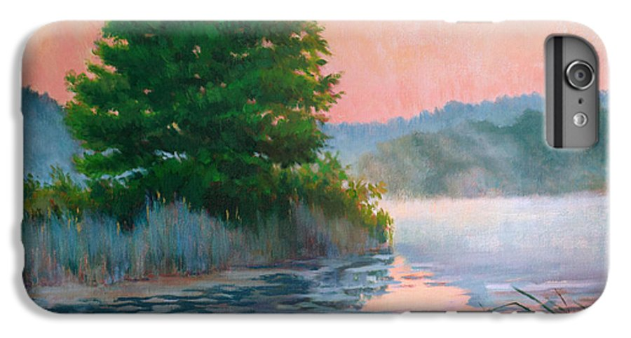 Impressionism IPhone 7 Plus Case featuring the painting Break Of Day by Keith Burgess