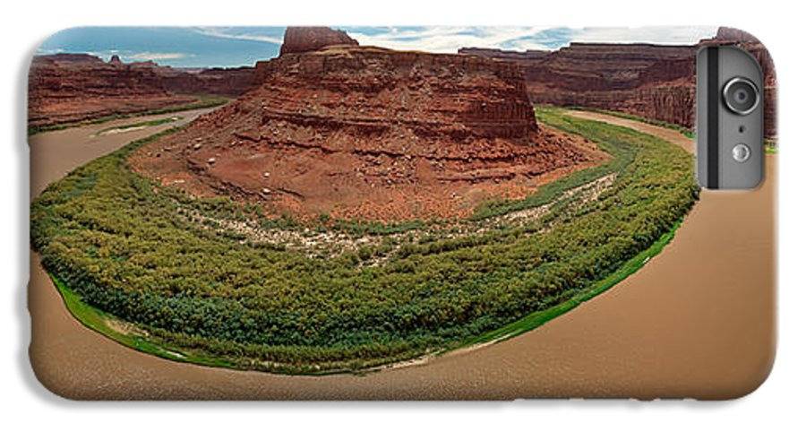 3scape Photos IPhone 7 Plus Case featuring the photograph Colorado River Gooseneck by Adam Romanowicz