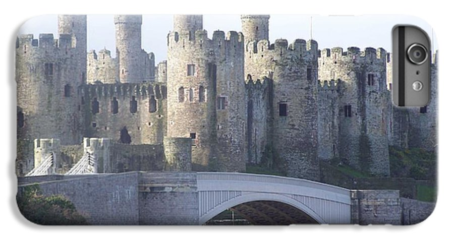 Castles IPhone 7 Plus Case featuring the photograph Conwy Castle by Christopher Rowlands