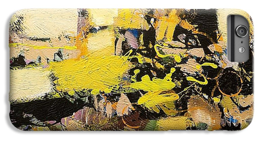 Landscape IPhone 7 Plus Case featuring the painting Euclid by Allan P Friedlander