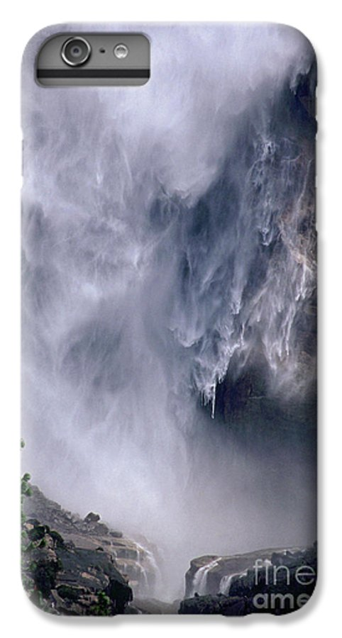 Waterfall IPhone 7 Plus Case featuring the photograph Falling Water by Kathy McClure
