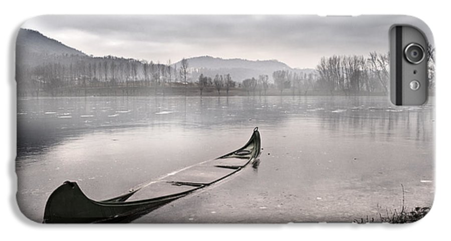 Lake IPhone 7 Plus Case featuring the photograph Frozen Day by Yuri San