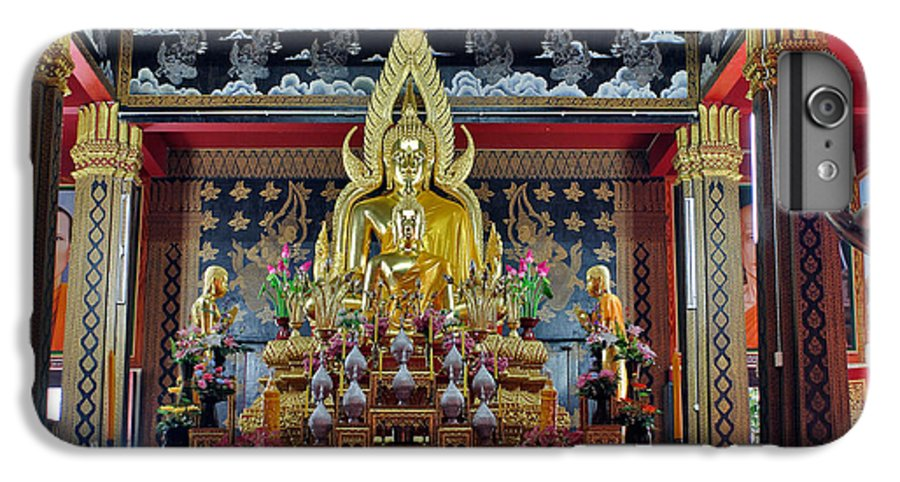 3scape Photos IPhone 7 Plus Case featuring the photograph Golden Buddha by Adam Romanowicz
