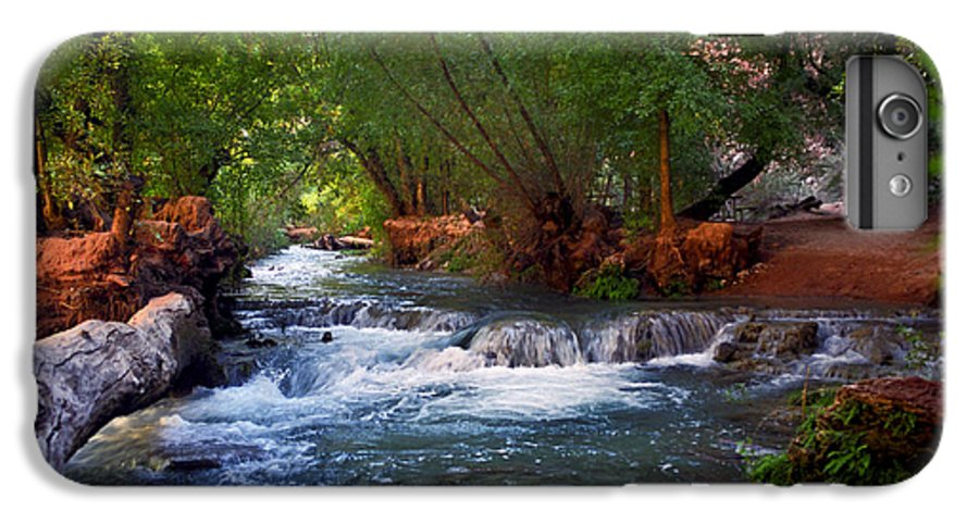 Arizona IPhone 7 Plus Case featuring the photograph Havasu Creek by Kathy McClure