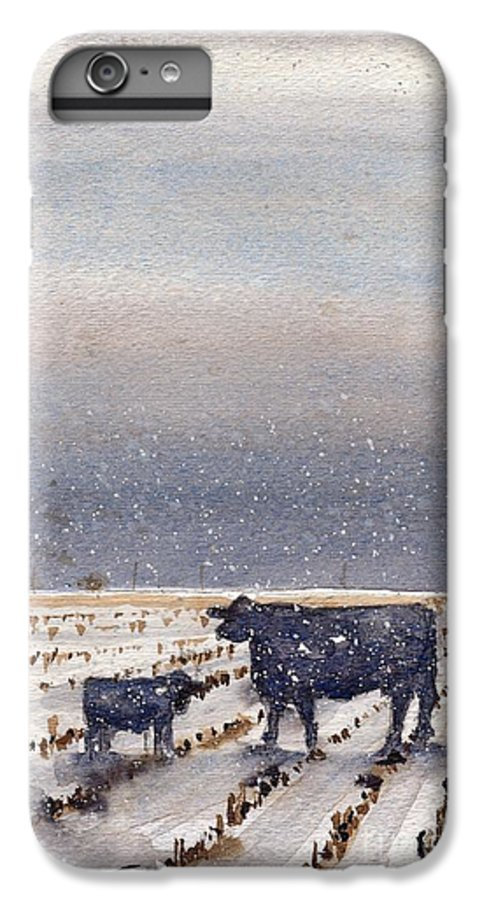 IPhone 7 Plus Case featuring the painting Heck Of A Day To Be Born by Tim Oliver