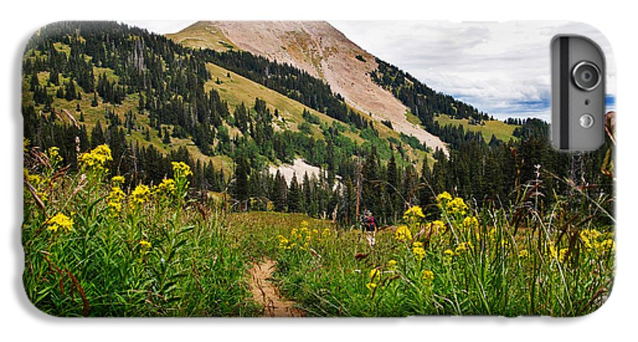 3scape IPhone 7 Plus Case featuring the photograph Hiking In La Sal by Adam Romanowicz