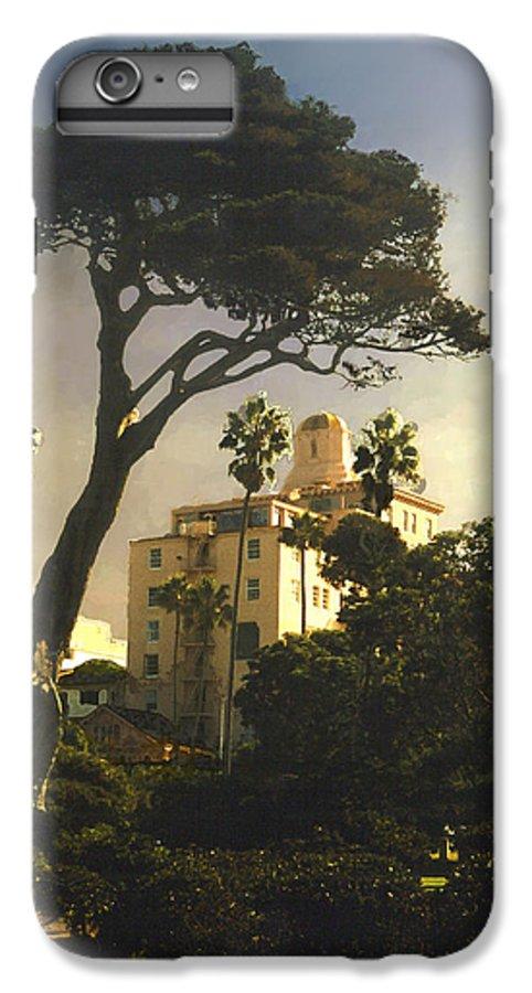 Landscape IPhone 7 Plus Case featuring the photograph Hotel California- La Jolla by Steve Karol