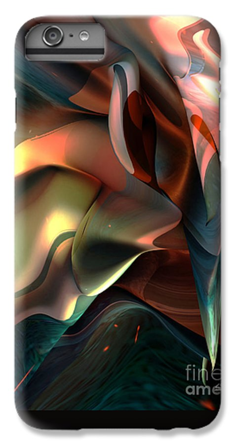 Painter IPhone 7 Plus Case featuring the painting Jerome Bosch Atmosphere by Christian Simonian