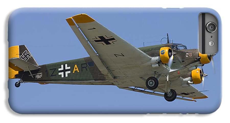 3scape IPhone 7 Plus Case featuring the photograph Junkers Ju-52 by Adam Romanowicz
