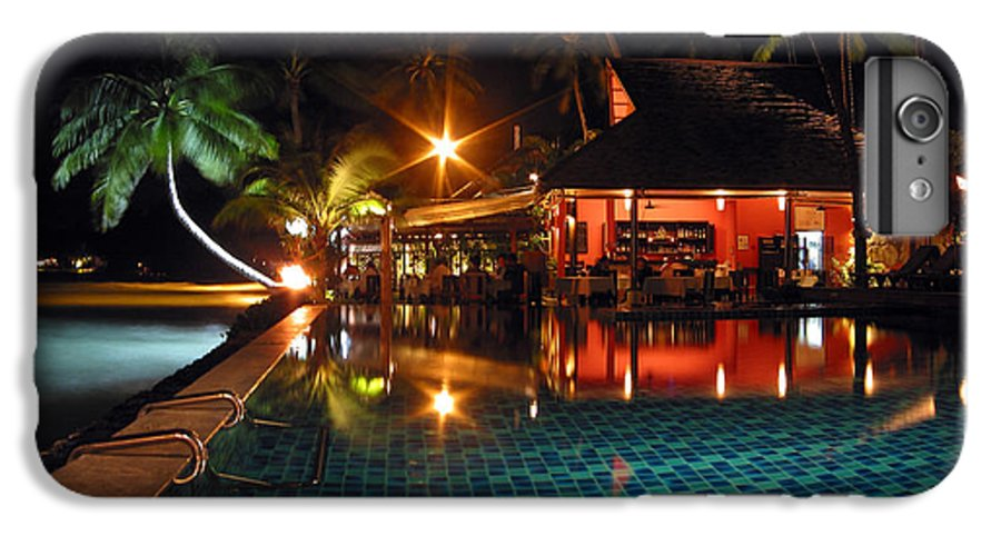 3scape IPhone 7 Plus Case featuring the photograph Koh Samui Beach Resort by Adam Romanowicz