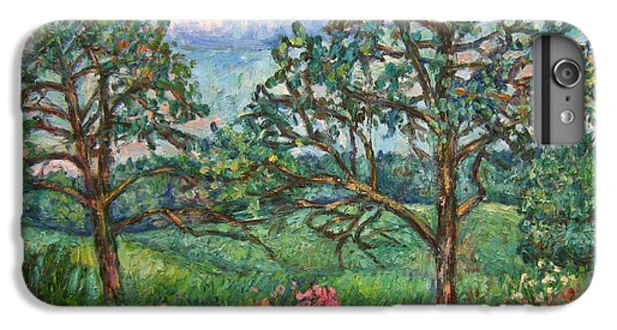 Landscape IPhone 7 Plus Case featuring the painting Kraft Avenue In Blacksburg by Kendall Kessler