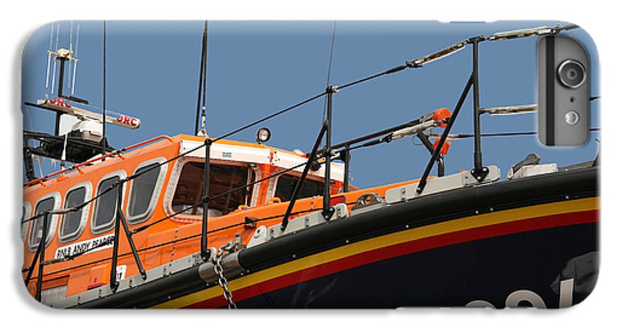 Life IPhone 7 Plus Case featuring the photograph Life Boat by Christopher Rowlands