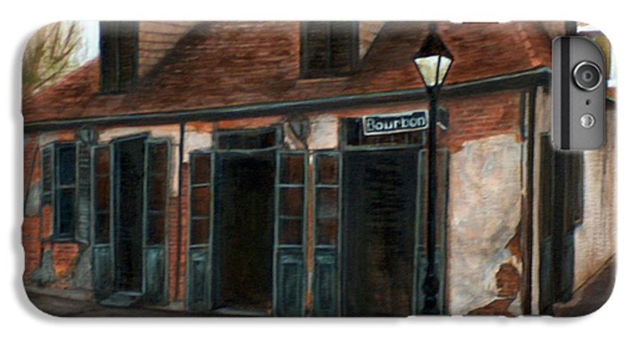 Realism IPhone 7 Plus Case featuring the painting New Orleans Familiar Site Before by M J Venrick