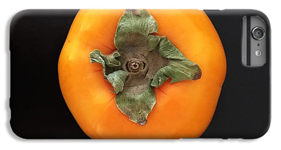 Persimmon IPhone 7 Plus Case featuring the photograph Persimmon by Julie Gebhardt