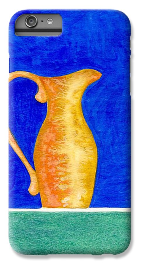 Still Life IPhone 7 Plus Case featuring the painting Pitcher 2 by Micah Guenther