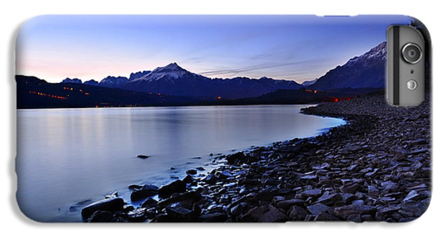 Lake IPhone 7 Plus Case featuring the photograph Quiet Night By The Lake by Yuri San
