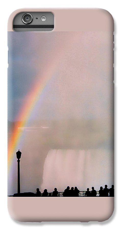 Rainbow IPhone 7 Plus Case featuring the photograph Rainbow Falls by Pharris Art