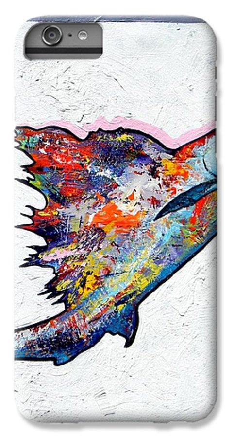 Wildlife IPhone 7 Plus Case featuring the painting Rainbow Warrior - Sailfish by Joe Triano