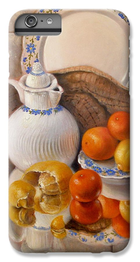 Realism IPhone 7 Plus Case featuring the painting Reflections by Donelli DiMaria