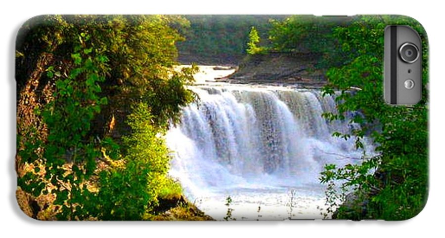 Falls IPhone 7 Plus Case featuring the photograph Scenic Falls by Rhonda Barrett