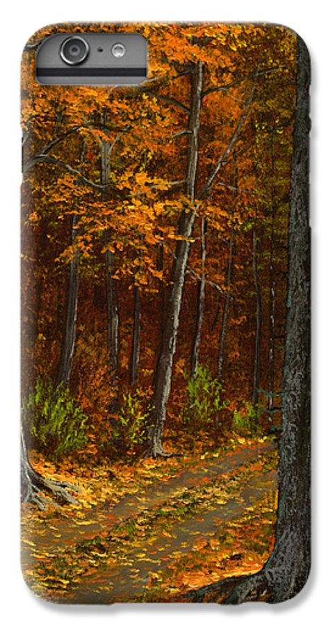 Landscape IPhone 7 Plus Case featuring the painting Seldom Used by Frank Wilson