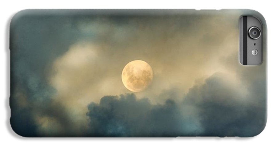 Moon IPhone 7 Plus Case featuring the photograph Song To The Moon by Georgiana Romanovna