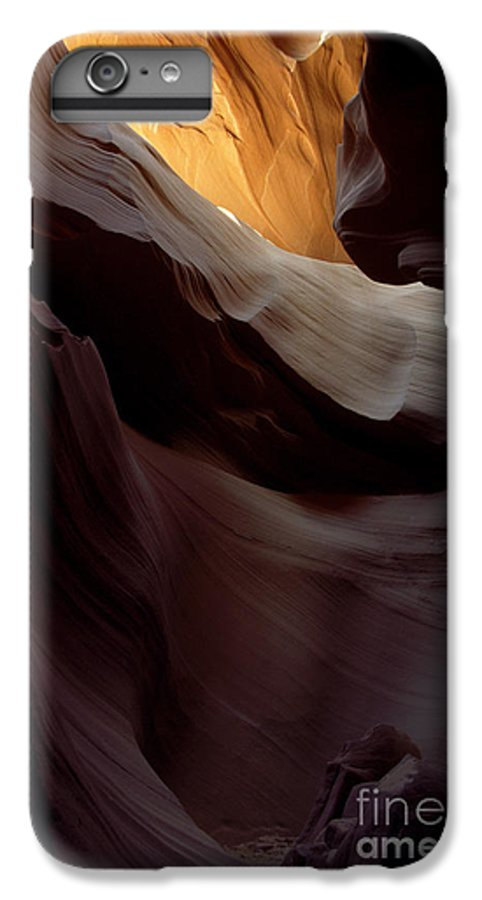 Slot Canyons IPhone 7 Plus Case featuring the photograph Swopes by Kathy McClure