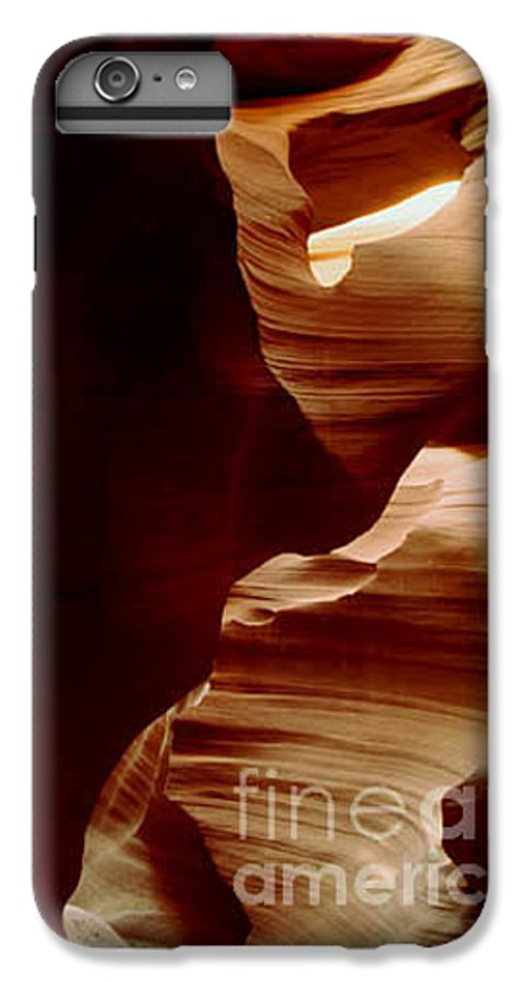 Landscape IPhone 7 Plus Case featuring the photograph The Heart Of Antelope Canyon by Kathy McClure